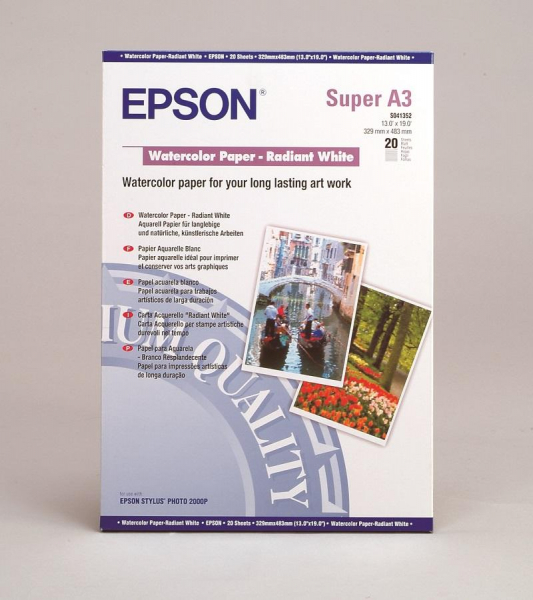 Carta Epson Carta Fine Art Carta Acquerello