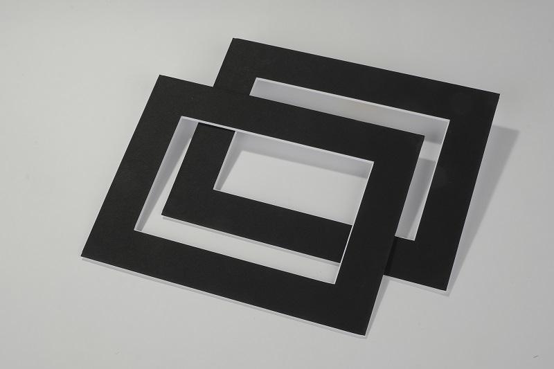 Gadget Sublimatici e passepartout Reprochimica Passepartout Passpartout Acid Free 1,9 mm 24 x 30 cm Nero