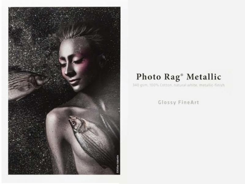 Carta Hahnemühle Carta Fine Art Fine Art Photo Rag® Metallic 340 g 17