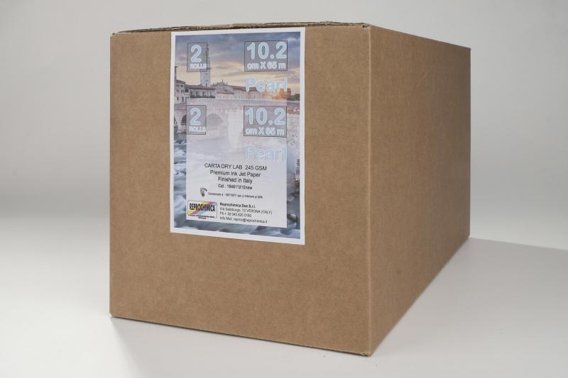 Carta Reprochimica Carta DryLab Kiosk Roll PEARL 260 g. 10,2 cm