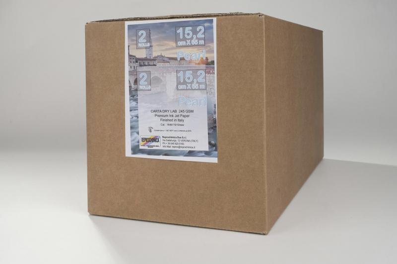 Carta Reprochimica Carta DryLab Kiosk Roll PEARL 260 g. 15,2 cm