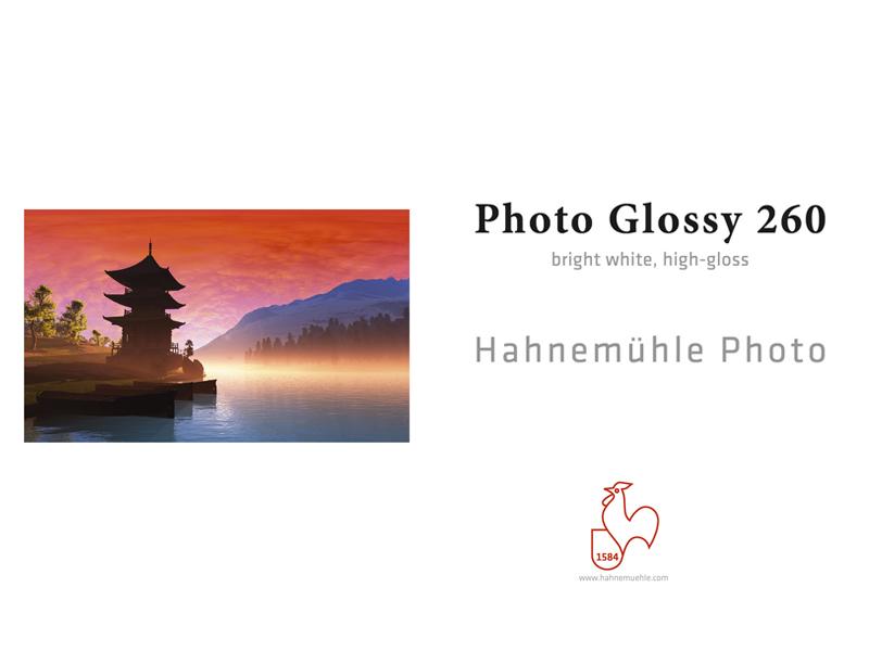 Carta Hahnemühle Carta Fotografica Photo Glossy 260 g. A3