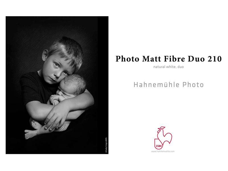 Carta Hahnemühle Carta Fotografica Photo Matt Fibre Duo 210 g. A3+