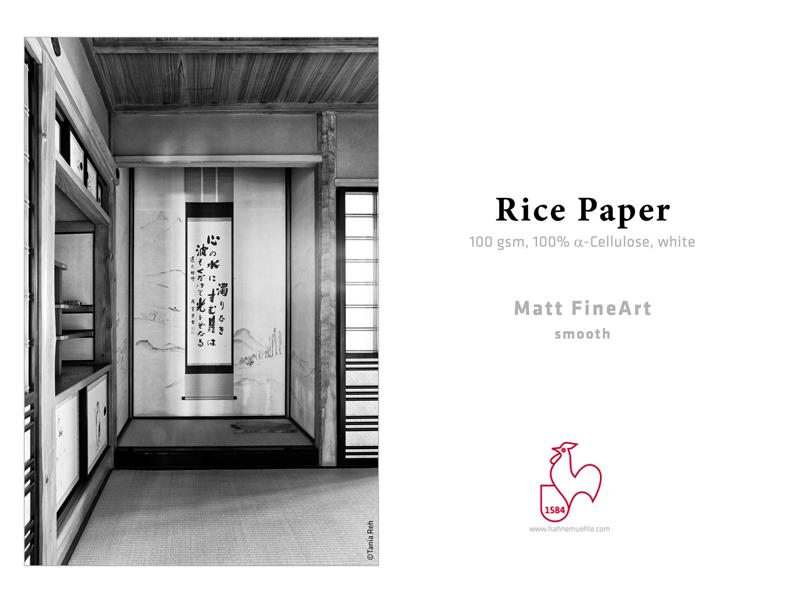 Carta Hahnemühle Carta Fine Art Fine Art Rice Paper 100 g. 44