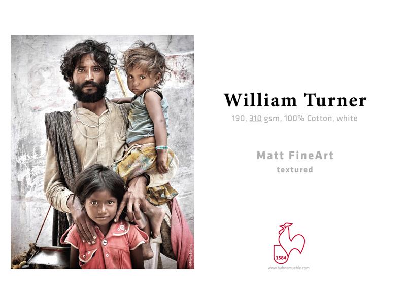 Carta Hahnemühle Carta Fine Art Fine Art William Turner 190 g. A3+