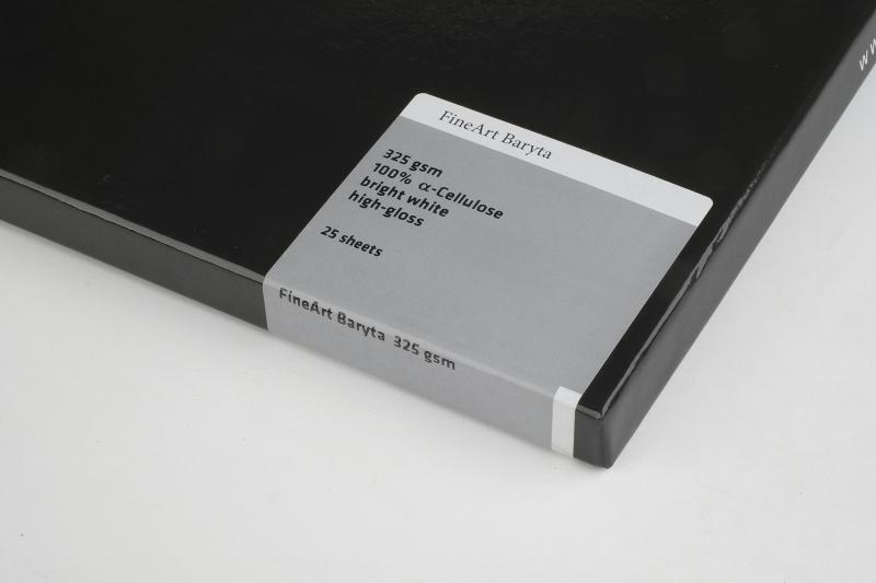 Carta Hahnemühle Carta Fine Art Fine Art Baryta 325 g. A4