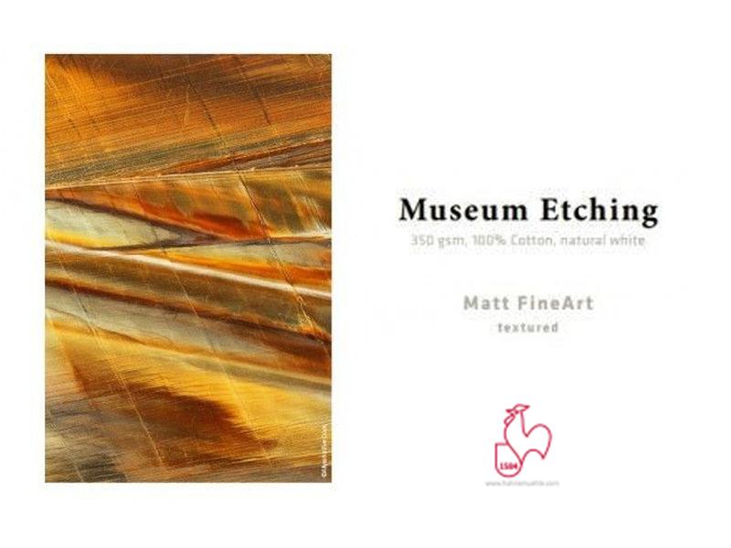 Carta Hahnemühle Carta Fine Art Fine Art Photo Card Museum Etching 350 g. A6