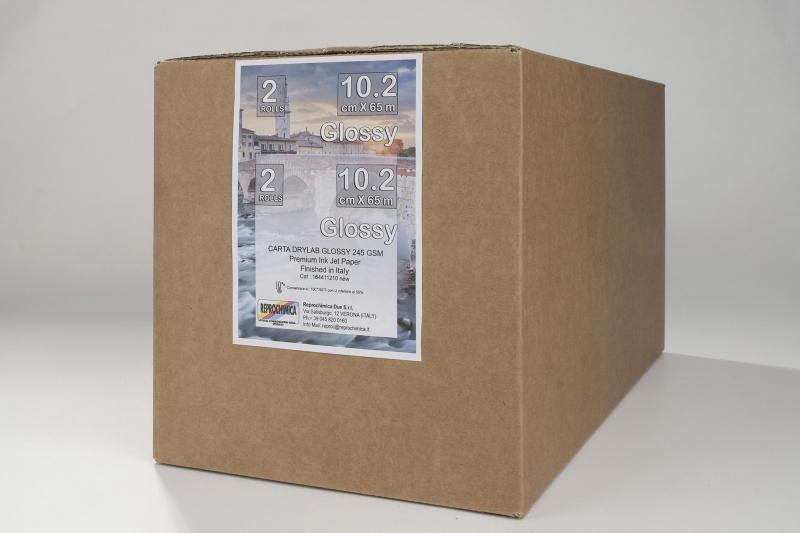 Carta Reprochimica Carta DryLab Kiosk Roll GLOSSY 260 g. 4