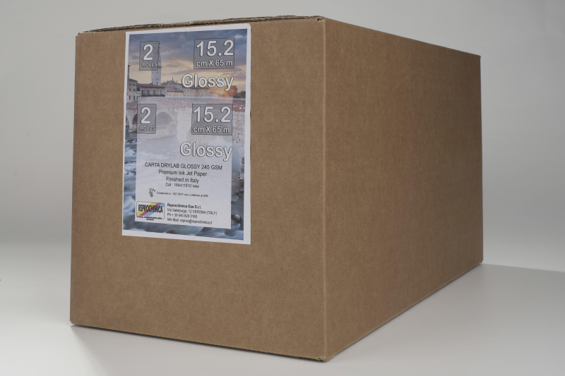 Carta Reprochimica Carta DryLab Kiosk Roll GLOSSY 260 g. 6