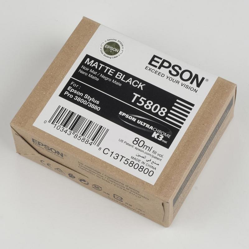 Inchiostri Epson Inchiostri Tanica UltraChrome® K3   Nero Matt Stylus Pro 3800, 3880