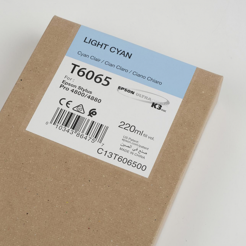 Ink Cartucce Originali Epson Pigmento base acqua SP 4800-4880 Tanica UltraChrome® K3   Cyan Chiaro Stylus Pro 4800, 4880