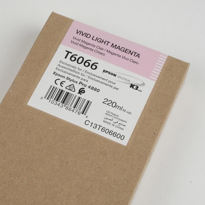 Ink Cartucce Originali Epson Pigmento base acqua SP 4800-4880 Tanica UltraChrome® K3   Vivid Magenta Chiaro Stylus Pro 4880