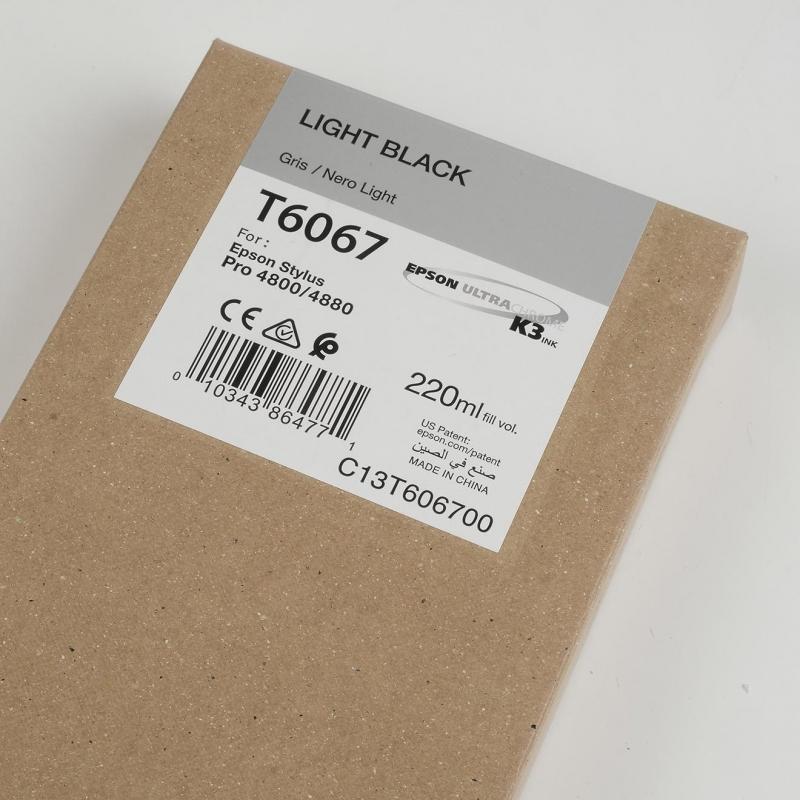Ink Cartucce Originali Epson Inchiostri Tanica UltraChrome® K3   Nero Chiaro Stylus Pro 4800, 4880