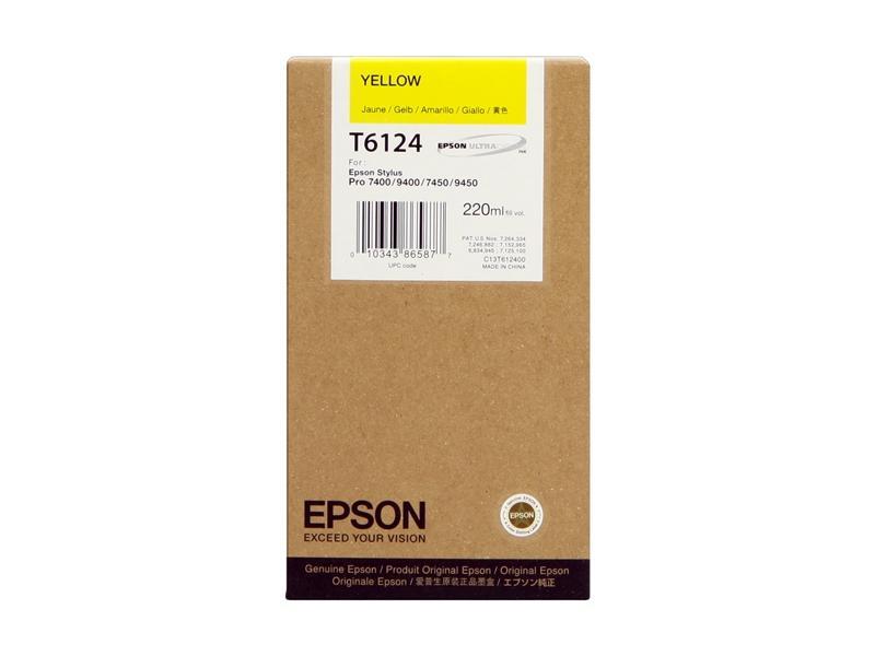 Ink Cartucce Originali Epson Inchiostri Tanica UltraChrome® K3   Giallo Stylus Pro 7400, 7450, 9450