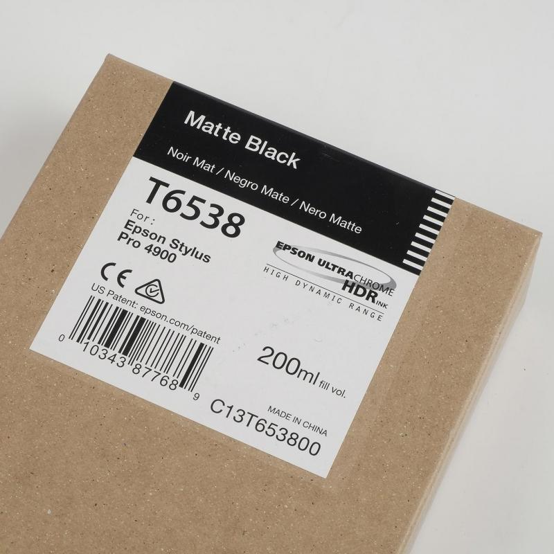 Ink Cartucce Originali Epson Pigmento base acqua SC-P4900 Tanica UltraChrome® HDR   Nero Matt Stylus Pro 4900