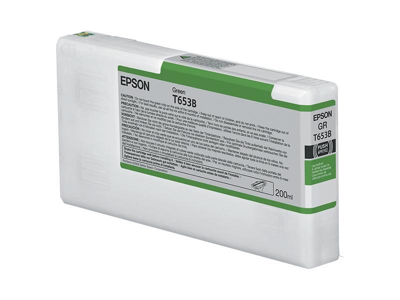 Ink Cartucce Originali Epson Pigmento base acqua SC-P4900 Tanica UltraChrome® HDR   Verde Stylus Pro 4900