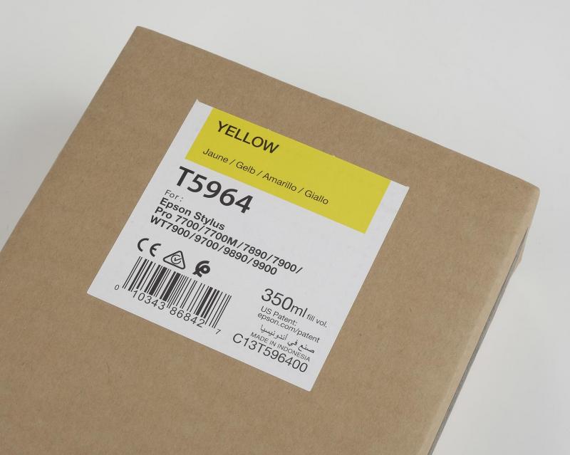 Inchiostri Epson Inchiostri Tanica UltraChrome® HDR Giallo (350 ml.) per WT7900 7900 9900 7700 9700 7890 9890