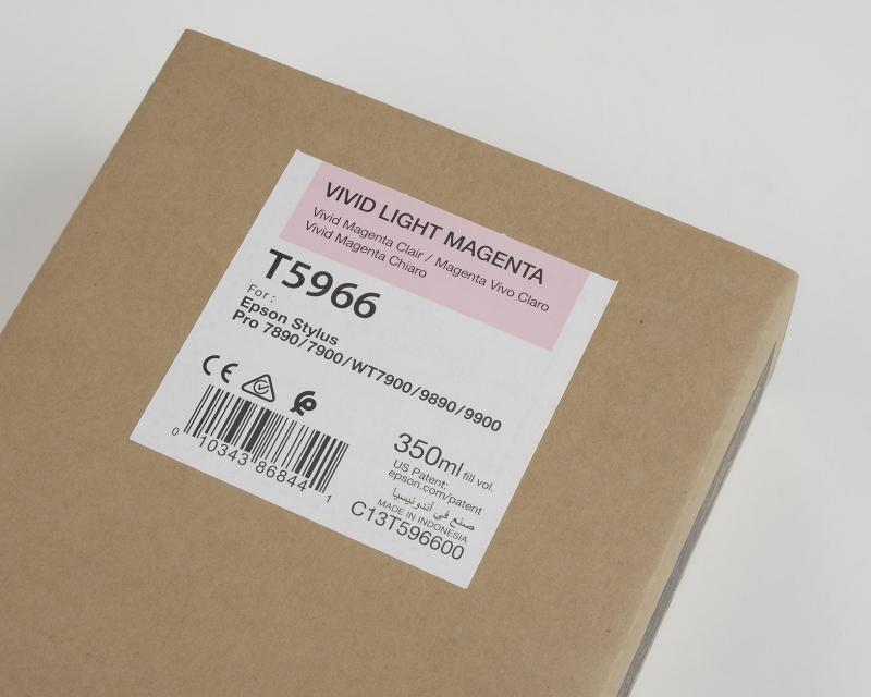 Ink Cartucce Originali Epson Inchiostri Tanica UltraChrome® HDR   Vivid Magenta Chiaro Stylus Pro WT7900/7900/9900/7700/9700/7890/9890