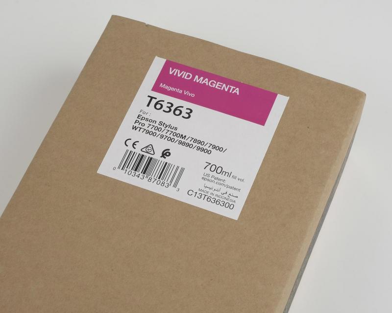 Ink Cartucce Originali Epson Inchiostri Tanica UltraChrome® HDR   Vivid Magenta Stylus Pro WT7900, 7900, 9900, 7700, 9700, 7890, 9890
