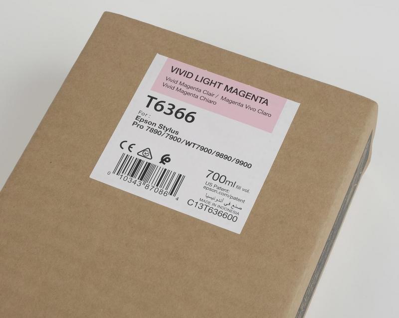Inchiostri Epson Inchiostri Tanica UltraChrome® HDR   Vivid Magenta Chiaro Stylus Pro WT7900, 7900, 9900, 7700, 9700, 7890, 9890