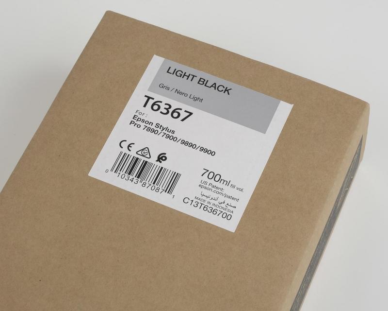 Ink Cartucce Originali Epson Inchiostri Tanica UltraChrome® HDR   Nero Chiaro Stylus Pro WT7900, 7900, 9900, 7700, 9700, 7890, 9890