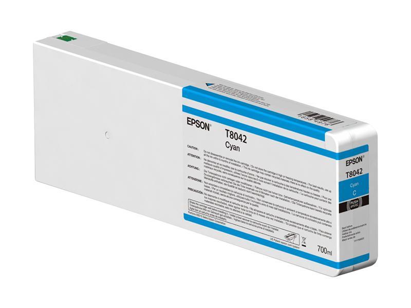 Inchiostri Epson Inchiostri Tanica UltraChrome® HDX    Cyan Surecolor SC-P6000, P7000, P8000, P9000 e versioni Violet