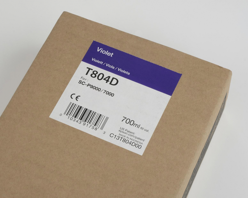 Inchiostri Epson Inchiostri Tanica UltraChrome® HDX    Violetto Surecolor SC-P7000, P9000 e versioni Violet