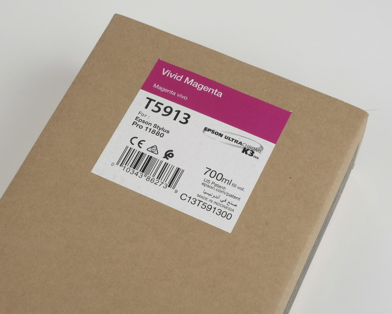 Ink Cartucce Originali Epson Inchiostri Tanica UltraChrome® K3   Vivid Magenta Stylus Pro 11880