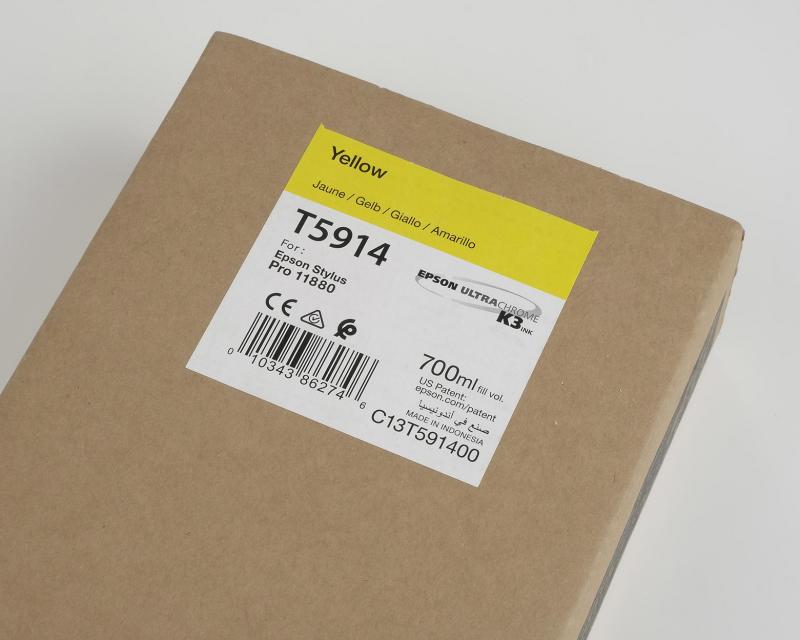 Ink Cartucce Originali Epson Inchiostri Tanica UltraChrome® K3   Giallo Stylus Pro 11880