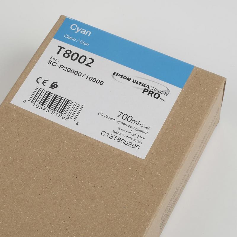 Ink Cartucce Originali Epson Inchiostri Tanica UltraChrome® PRO   Cyan Surecolor SC-P10000, P20000