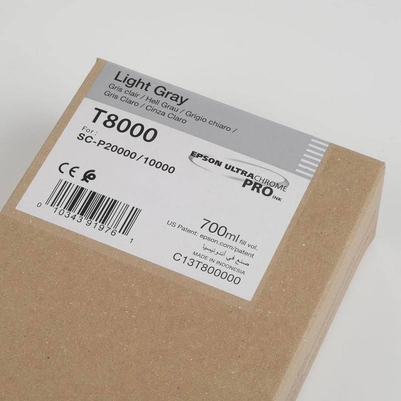 Ink Cartucce Originali Epson Inchiostri Tanica UltraChrome® PRO   Grigio Chiaro Surecolor SC-P10000, P20000