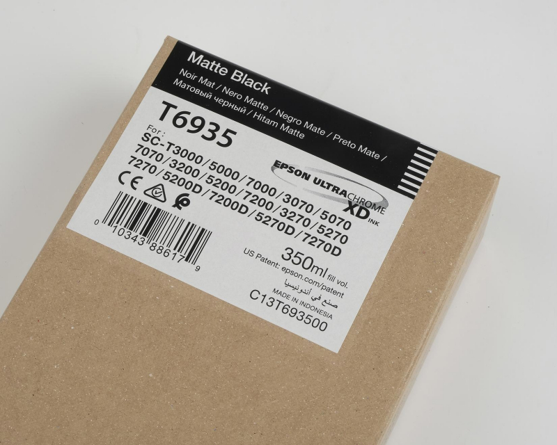 Ink Cartucce Originali Epson Inchiostri Tanica UltraChrome® XD   Nero Matt Surecolor SC-T3000, T5000, T7000, T3200, T5200, T7204