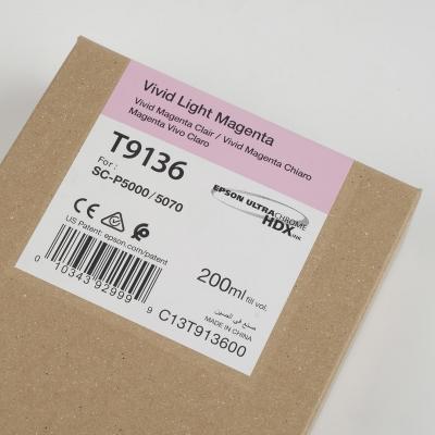Ink Cartucce Originali Epson Inchiostri Tanica UltraChrome® HDX   Vivid Magenta Chiaro Surecolor Sc-P5000