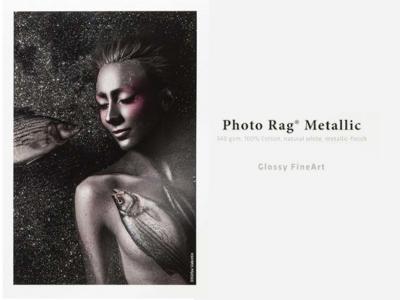 Carta Hahnemühle Carta Fine Art Fine Art Photo Rag® Metallic 340 g A3+