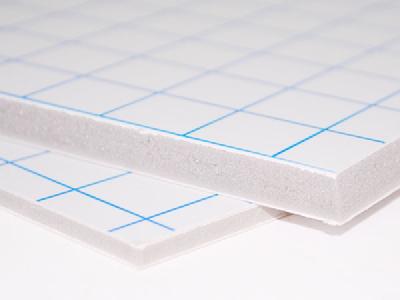 Pannelli Adesivizzati Reprochimica Pannelli Adesivi Foam Board Pannello adesivo FOAM BOARD 70x100 - 10 mm. BIANCO - Conf. 12 fogli