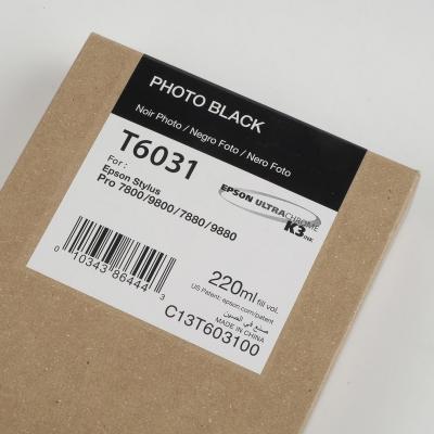 Ink Cartucce Originali Epson Pigmento base acqua SP 7400 9400 7450 9450 7800 7880 9800 9880 Tanica UltraChrome® K3   Nero Stylus pro 7800, 7880, 9800, 9880