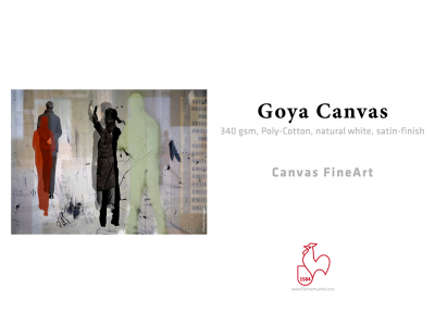 Carta Hahnemühle Carta Fine Art Fine Art Goya Canvas  340 g. 24