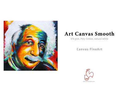 Carta Hahnemühle Carta Fine Art Art Canvas Smooth 370 g. 24