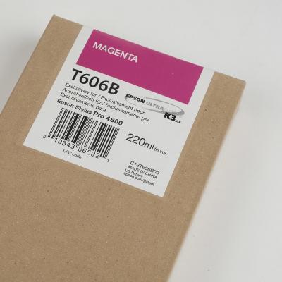 Ink Cartucce Originali Epson Pigmento base acqua SP 4800-4880 Tanica UltraChrome® K3   Magenta Stylus Pro 4800