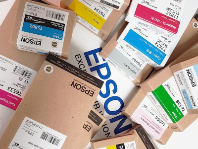 Ink Cartucce Originali Epson Inchiostri Tanica UltraChrome® K3   Cyan Stylus Pro 4000, 4400, 4450, 7600, 9600