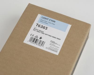 Ink Cartucce Originali Epson Inchiostri Tanica UltraChrome® HDR   Cyan Chiaro Stylus Pro WT7900, 7900, 9900, 7700, 9700, 7890, 9890