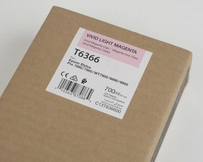 Ink Cartucce Originali Epson Inchiostri Tanica UltraChrome® HDR   Vivid Magenta Chiaro Stylus Pro WT7900, 7900, 9900, 7700, 9700, 7890, 9890