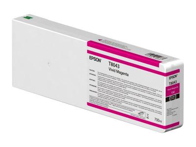 Ink Cartucce Originali Epson Inchiostri Tanica UltraChrome® HDX    Vivid Magenta Surecolor SC-P6000, P7000, P8000, P9000 e versioni Violet