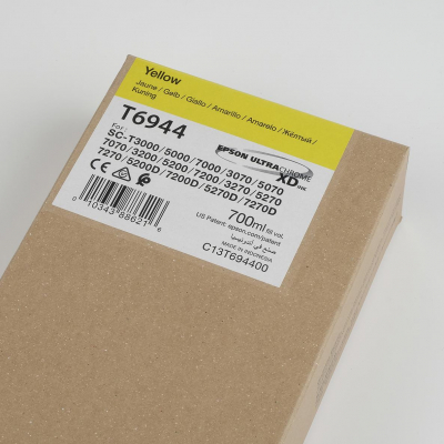 Inchiostri Epson Inchiostri Tanica UltraChrome® XD Giallo (700 ml.) - T3000 T3000OPOS T5000 T5000POS T7000